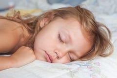 Het meisje van de slaap Stock Afbeelding