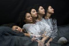 Het meisje van de slaap Royalty-vrije Stock Foto's