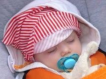 Het meisje van de slaap royalty-vrije stock foto