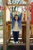 Het meisje van de speelplaats Royalty-vrije Stock Afbeeldingen