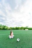 Het meisje van de sport Royalty-vrije Stock Foto's