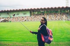 Het meisje van de sport Stock Foto