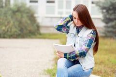 Het meisje van de student Royalty-vrije Stock Foto