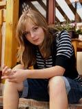Het meisje van de tiener Royalty-vrije Stock Afbeeldingen