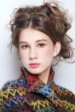 Het meisje van de tiener Stock Foto