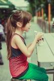 Het Meisje van de tiener Stock Fotografie