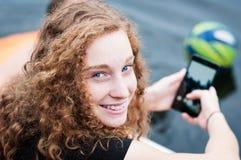 Het Meisje van de tiener Royalty-vrije Stock Foto