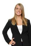 Het meisje van de tiener op formele kledij Stock Fotografie