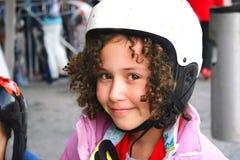 Het meisje van de tiener op skivakantie Stock Afbeelding