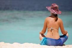 Het meisje van de vakantie Royalty-vrije Stock Afbeeldingen