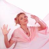Het meisje van de valentijnskaart Royalty-vrije Stock Foto's