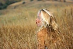 Het meisje van de vallei Stock Afbeelding