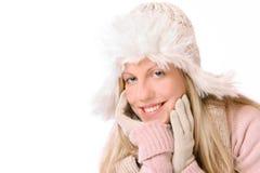 Het Meisje van de winter royalty-vrije stock foto