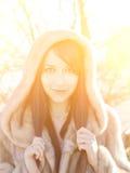 Het meisje van de winter Royalty-vrije Stock Fotografie