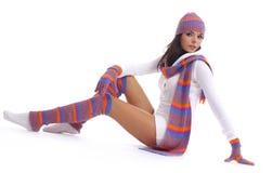 Het meisje van de winter Royalty-vrije Stock Afbeelding