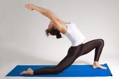 Het meisje van de yogi Stock Foto's