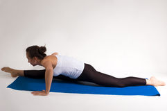 Het meisje van de yogi Royalty-vrije Stock Foto