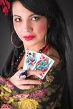 Het meisje van de zigeuner Royalty-vrije Stock Foto's