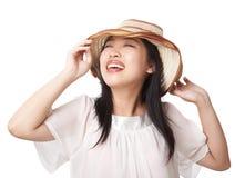 Het meisje van de zomer Royalty-vrije Stock Afbeeldingen