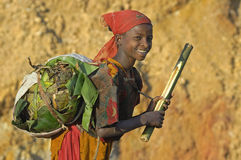 Het Meisje van Dorze Stock Fotografie