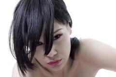 Het meisje van Emo Stock Foto's