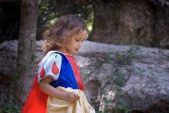 Het meisje van Fairytale Stock Afbeeldingen