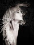 Het meisje van Glam royalty-vrije stock afbeeldingen