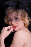 Het meisje van Glam Royalty-vrije Stock Foto
