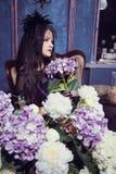 Het meisje van Goth Royalty-vrije Stock Afbeelding