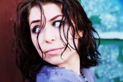 Het Meisje van Grunge Stock Foto