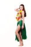 Het meisje van Hawaian Stock Foto's