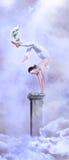 Het Meisje van het circus Royalty-vrije Stock Afbeeldingen