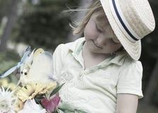 Het meisje van het dagdromen Royalty-vrije Stock Foto's