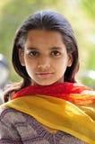 Het meisje van het dorp Royalty-vrije Stock Fotografie