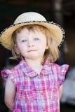 Het meisje van het dorp Royalty-vrije Stock Foto's