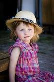 Het meisje van het dorp Royalty-vrije Stock Foto