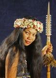 Het Meisje van het eiland royalty-vrije stock fotografie