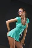 Het Meisje van het flirt Stock Foto