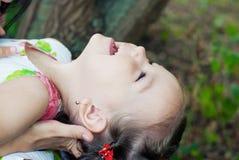 Het meisje van het kind Stock Afbeelding