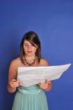 Het meisje van het koor Stock Foto