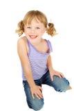 Het meisje van het land. Stock Foto