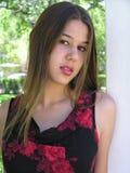 Het Meisje van het mengen-ras Stock Foto's