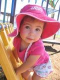 Het meisje van het park Royalty-vrije Stock Afbeeldingen