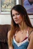 Het meisje van het portret Royalty-vrije Stock Afbeelding