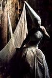 Het meisje van het spook Stock Afbeelding