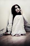 Het meisje van het spook Stock Foto's