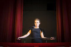 Het meisje van het theater Royalty-vrije Stock Afbeelding