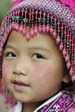 Het Meisje van Hilltribe, Thailand Royalty-vrije Stock Foto
