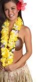 Het Meisje van Hula Royalty-vrije Stock Foto's