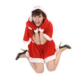 Het meisje van Kerstmis Royalty-vrije Stock Afbeeldingen
